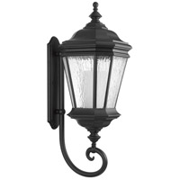 Crawford 1 Light 33 inch Black Outdoor Wall Lantern, Extra Large