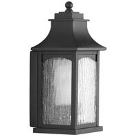 Maison 1 Light 14 inch Black Outdoor Wall Lantern, Small