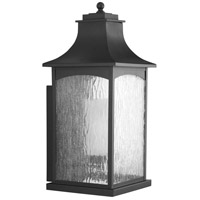 Maison 1 Light 24 inch Black Outdoor Wall Lantern, Extra Large