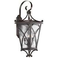 Cadence 4 Light 32 inch Oil Rubbed Bronze Outdoor Wall Lantern, Extra Large
