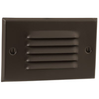 Signature 4 watt Antique Bronze Step Light, Louvered