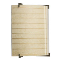 Progress Lighting Le Papier Wall Sconce in Antique Bronze P7003-20NP