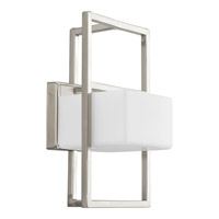 Progress Lighting Dibs 1 Light Wall Sconce in Brushed Nickel P7027-09WB