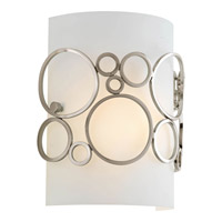 Bingo 1 Light 8 inch Brushed Nickel ADA Wall Sconce Wall Light