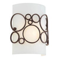 Progress Lighting Bingo 1 Light Wall Sconce in Venetian Bronze P7056-74