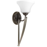 Noma 1 Light 7 inch Antique Bronze Wall Sconce Wall Light, Design Series