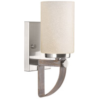 Aspen Creek 1 Light 5 inch Brushed Nickel Wall Sconce Wall Light, Design Series