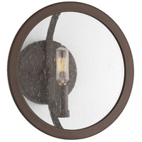 Progress P710021-143 Captivate 1 Light Graphite Wall Sconce Wall Light Design Series