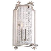 Desiree 1 Light 8 inch Silver Ridge Wall Sconce Wall Light, Design Series