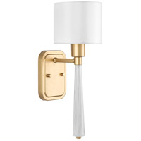 Palacio 1 Light 6 inch Vintage Gold Wall Sconce Wall Light, Design Series