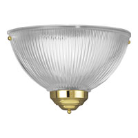 Progress Lighting Signature 1 Light Wall Sconce in Polished Brass P7126-10