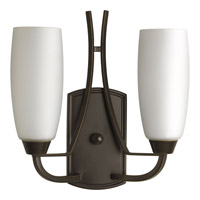 Progress Lighting Wisten 2 Light Wall Sconce in Antique Bronze P7127-20