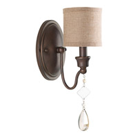 Flourish 1 Light 5 inch Cognac Wall Sconce Wall Light