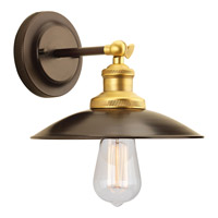 Progress P7156-20 Archives 1 Light 9 inch Antique Bronze Wall Sconce Wall Light