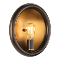 Swing 1 Light 12 inch Antique Bronze Sconce Wall Light