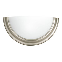 Progress Lighting Signature 1 Light Sconce in Brushed Nickel P7170-09 alternative photo thumbnail