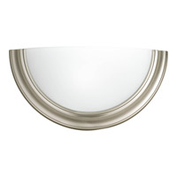 Progress Lighting Signature 1 Light Sconce in Brushed Nickel P7171-09WB