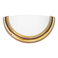 Progress P7171-10STRWB Eclipse 1 Light 15 inch Polished Brass ADA Wall Sconce Wall Light in Energy Star Rated photo thumbnail