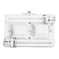 Progress Lighting Signature 2 Light Wall Pocket in White P7200-30EB