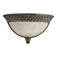 Progress Lighting Savannah 1 Light Wall Sconce in Burnished Chestnut P7210-86