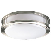 LED CTC LED 10 inch Brushed Nickel Flush Mount Ceiling Light