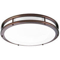 LED CTC LED 18 inch Urban Bronze Flush Mount Ceiling Light
