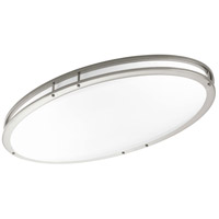 LED CTC LED 18 inch Brushed Nickel Flush Mount Ceiling Light