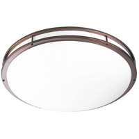 LED CTC LED 31 inch Urban Bronze Flush Mount Ceiling Light
