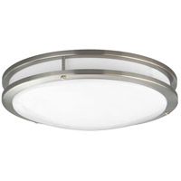 LED CTC LED 14 inch Brushed Nickel Flush Mount Ceiling Light