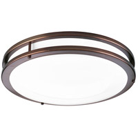 LED CTC LED 14 inch Urban Bronze Flush Mount Ceiling Light