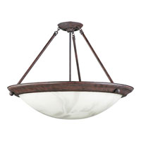Progress Lighting Eclipse 4 Light Semi-Flush Mount in Cobblestone P7320-33EBWB