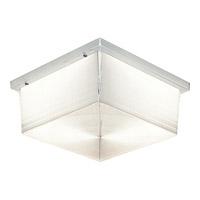 Progress Lighting Hard-Nox 2 Light Outdoor Ceiling in White P7396-68 photo thumbnail