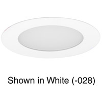 Progress P800005-009-30 Edgelit LED Brushed Nickel Recessed Light
