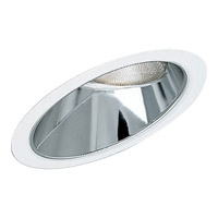 Progress Lighting Sloped Ceiling Trim Recessed Trim in Specular Clear P8001-21