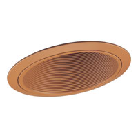 Progress Lighting Sloped Ceiling Trim Recessed Trim in Chestnut P8004-36