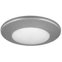 Progress P8022-82-30K P8022 Series LED 7 inch Metallic Gray Flush Mount Ceiling Light in Metallic Grey