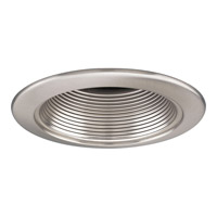Recessed Lighting Brushed Nickel Recessed Step Baffle Trim