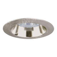 Recessed Lighting Brushed Nickel Recessed Open Trim in Damp Location Listed