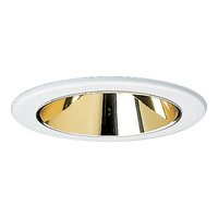 Progress Lighting Cone Trim Recessed Trim in Specular Gold P8043-22
