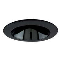 Progress Lighting Cone Trim Recessed Trim in Black Alzak P8049-31