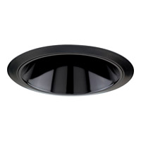 Progress Lighting Cone Trim Recessed Trim in Black Alzak P8053-31