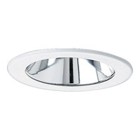 Progress Lighting Cone Trim Recessed Trim in Specular Clear P8056-21