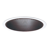 Progress Lighting Step Baffle Trim Recessed Trim in Black P8063-31