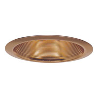 Progress Lighting Step Baffle Trim Recessed Trim in Copper P8066-14