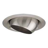 Recessed Lighting Brushed Nickel Recessed  Eyeball Trim in Standard