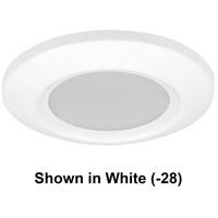 Progress P8107-3130K9 P8107 Series LED 6 inch Black Flush Mount Ceiling Light