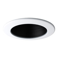 Progress Lighting Step Baffle Trim Recessed Trim in Black P8144-31