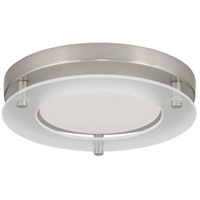 Progress P8147-0930K9 P8147 Series LED 8 inch Brushed Nickel Flush Mount Ceiling Light