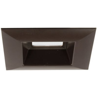 LED Retrofit Square LED Antique Bronze Recessed Trim