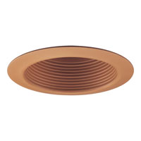 Progress Lighting Step Baffle Trim Recessed Trim in Chestnut P8175-36